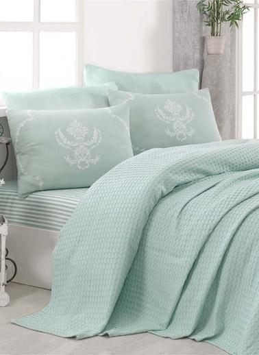 Eponj Home Paint Pike Takımı Tek Kişilik Pure  Yeşil